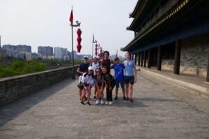 Rebecca in Xi'an