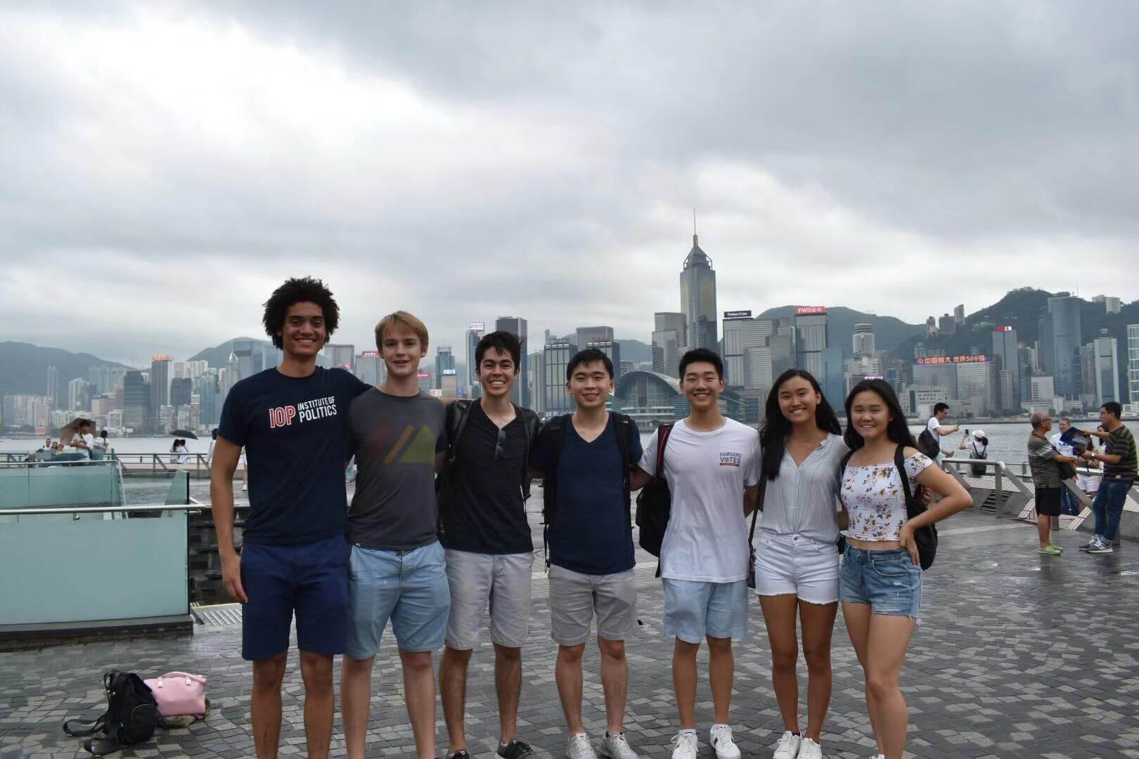 Rebecca in HK