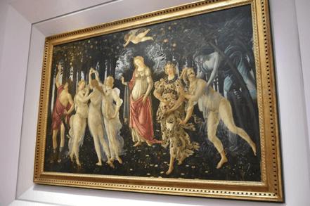 Primavera, the painting